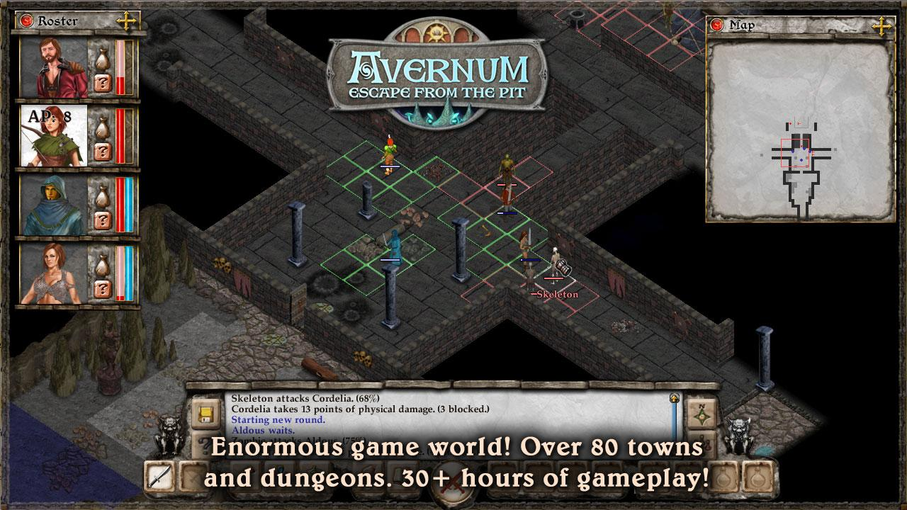 Avernum: Escape From the Pit- screenshot