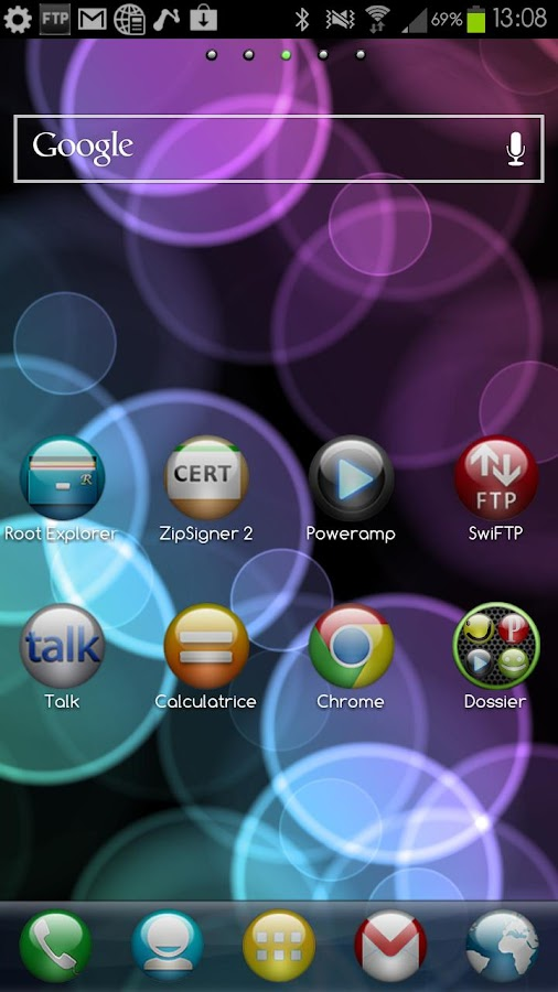 Sphere Theme GO/Apex/Nova HD- screenshot
