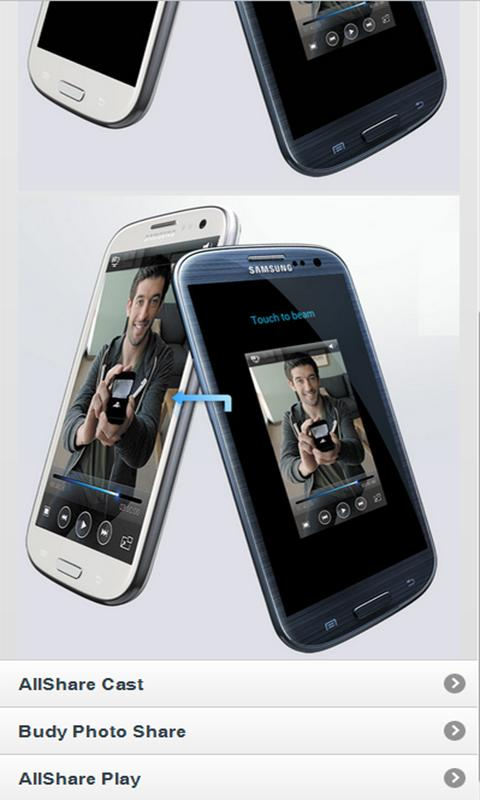 How to use Samsung Galaxy SIII - screenshot
