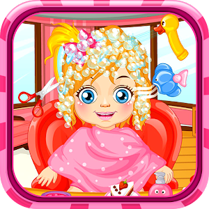 Casual baby game - Hair salon Icon