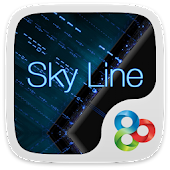Skyline GO Launcher Theme