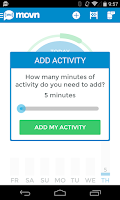 Screenshot of Movn Activity Sit Pedometer