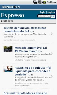 Portugal NeWs 4 All- screenshot thumbnail