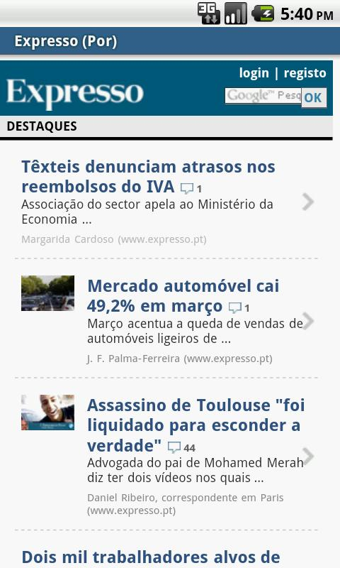 Portugal NeWs 4 All - screenshot