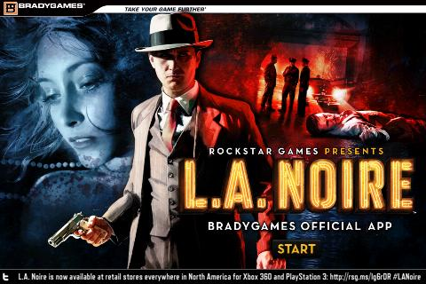 BradyGames Official L.A. Noire - screenshot
