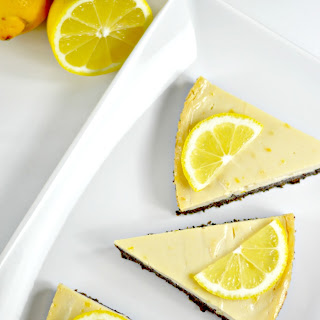 Vegan Lemon Pie on a Poppy Seed Crust