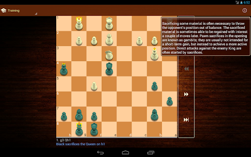 Tactic Trainer - chess puzzle - screenshot thumbnail