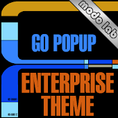 Enterprise GO SMS Popup theme