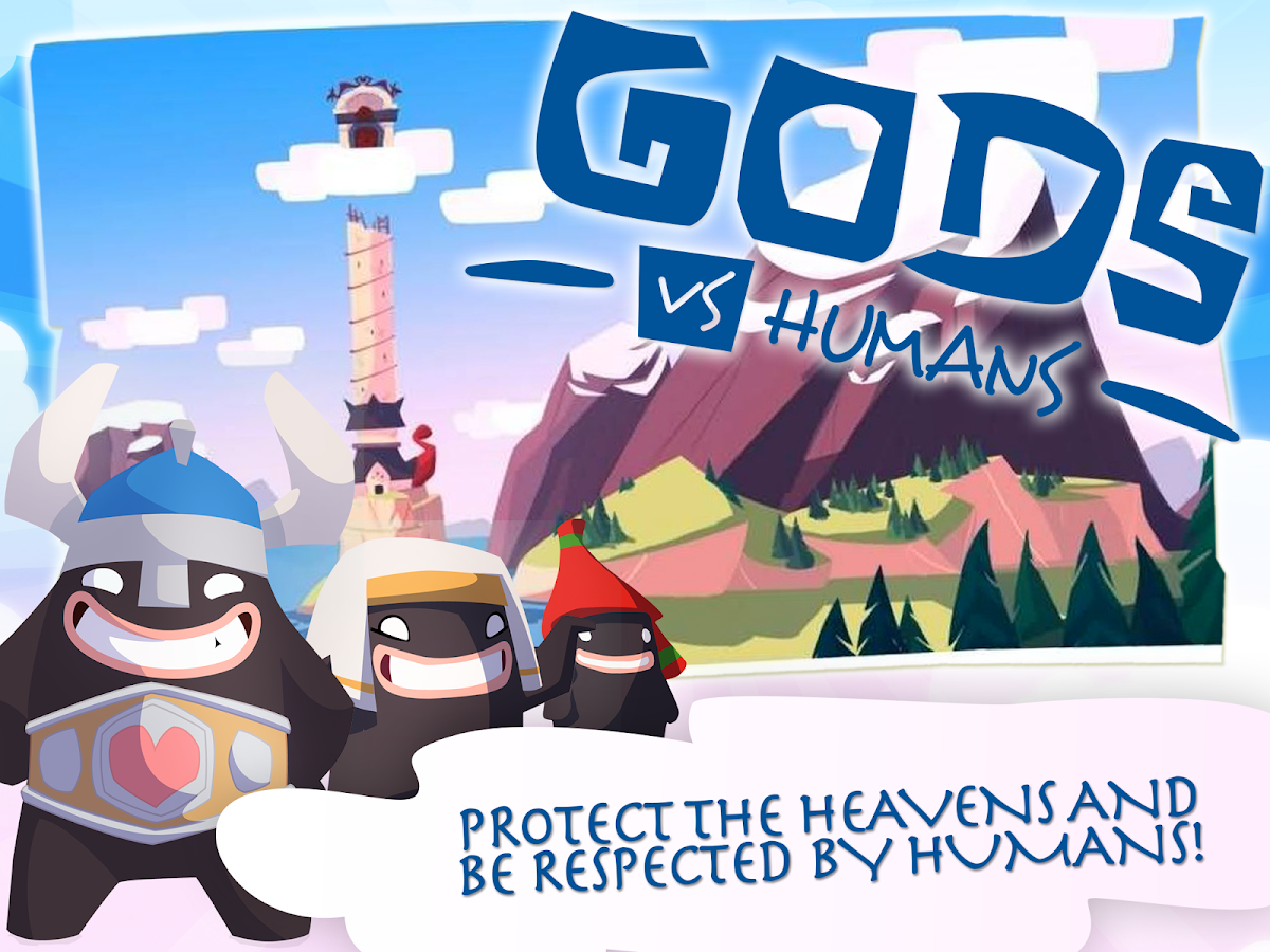 Gods VS Humans- screenshot