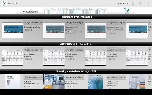 VIDEOR TechLib
