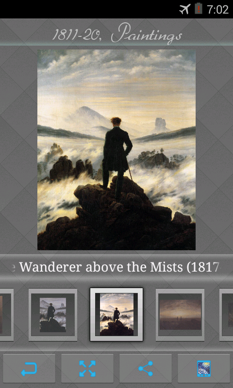 Caspar David Friedrich Art - screenshot