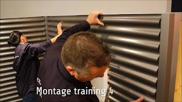 Screenshot of Montage Training golfplaten