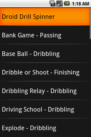 Soccer Practice Drills - U6- screenshot