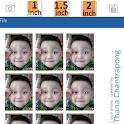 ถ่ายรูปติดบัตร icon