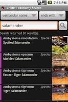 Screenshot of Critter Browser