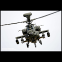 Great helicopters : Apache logo