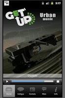 Screenshot of Radio Getup