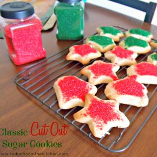 Classic Cut Out Sugar Cookies