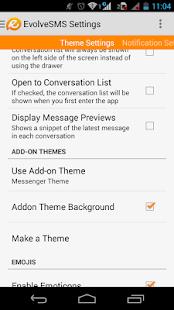 EvolveSms Theme Messenger