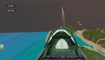 Screenshot of Jet Tilt Simulator 3D