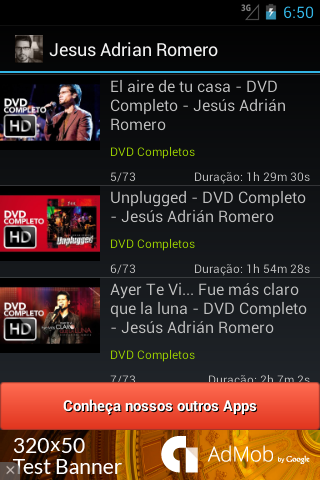 Jesús Adrián Romero - Vídeos