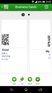 QR Droid Code Scanner – Miniaturansicht des Screenshots
