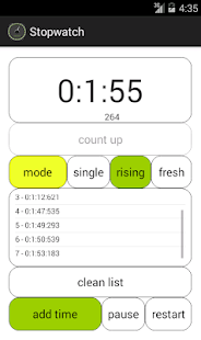 Stopwatch and Timer - screenshot thumbnail