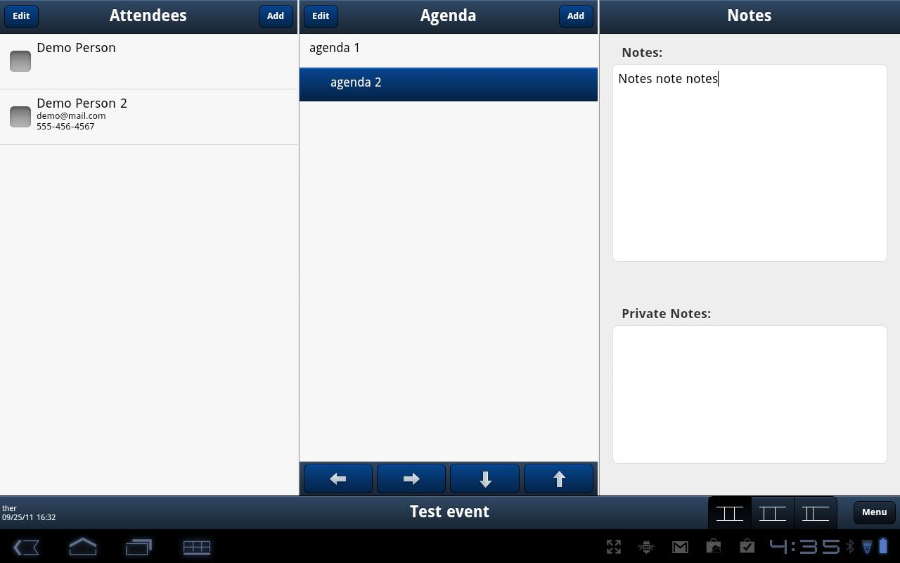 Meeting Notes (SALE) - screenshot