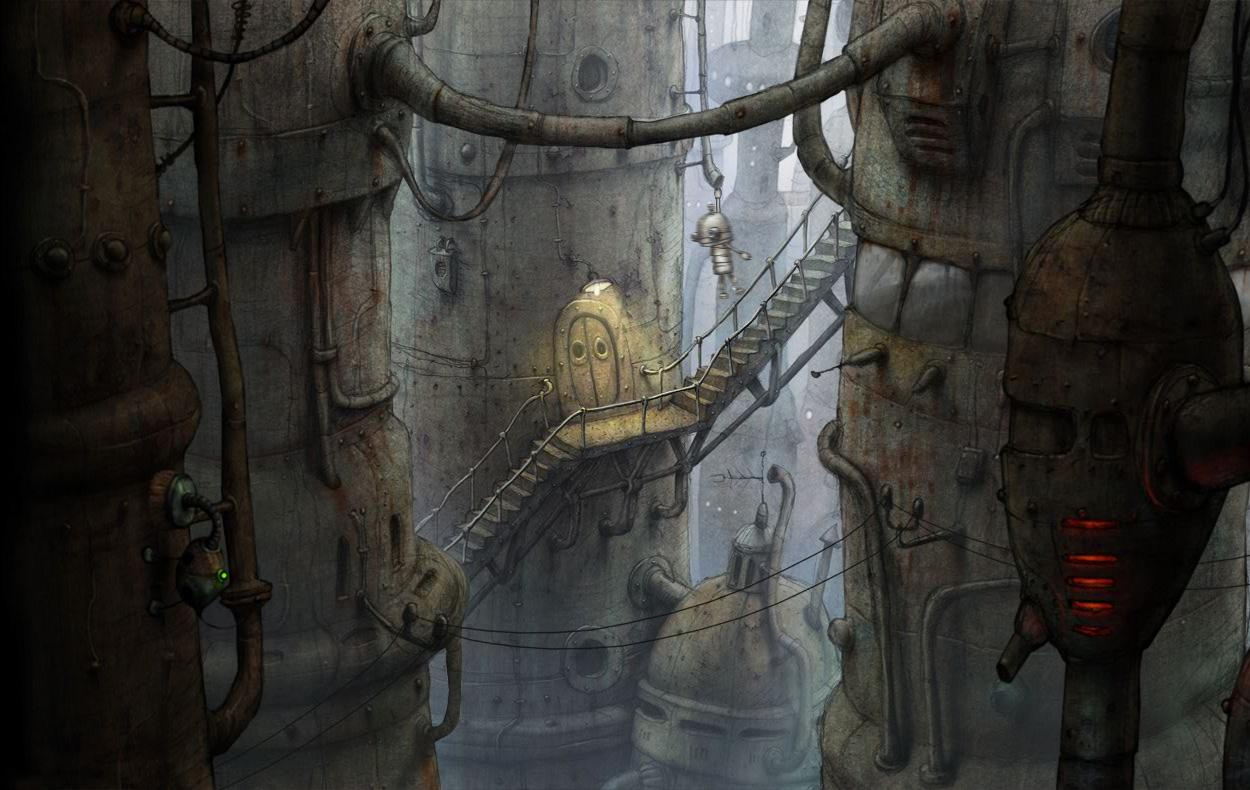Machinarium- screenshot