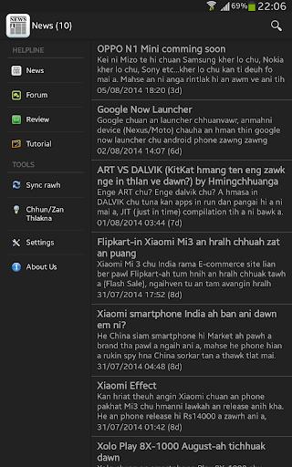 Mizo Android Helpline