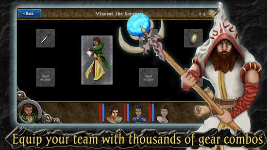 Heroes of Steel RPG Screenshot 23
