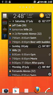All-in-One Agenda widget - screenshot thumbnail