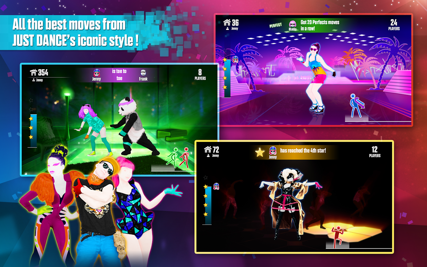 how to dance with just dance now on phone