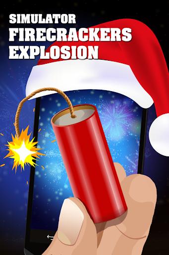 鞭炮爆炸的炸彈