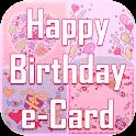 Happy Birthday e-Card Stickers icon