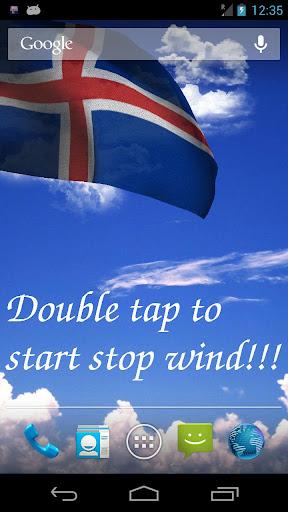 3D冰島國旗歌