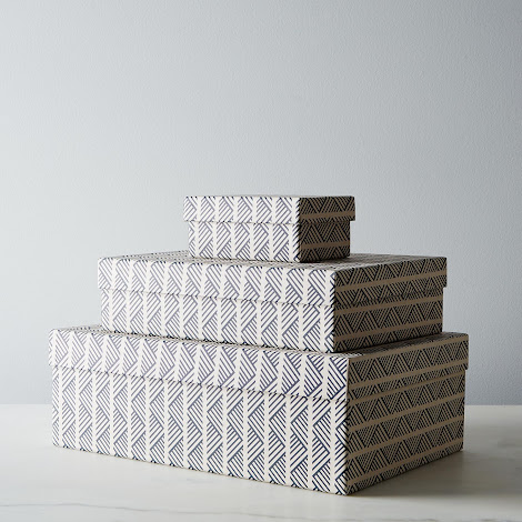 Tweed Nesting Boxes (Set of 3)