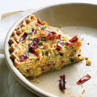 Corn and Bacon Pie.