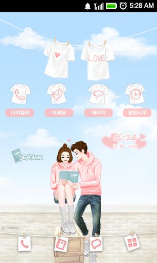 CUKI Themes LOVE couple
