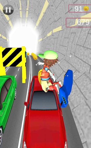 【免費休閒App】地鐵Hoverboard運行2-APP點子