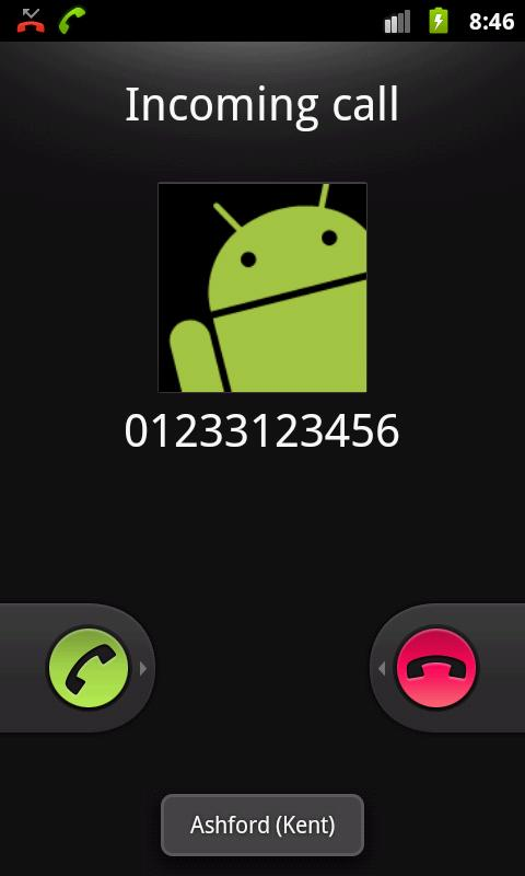 Caller Info (United Kingdom) - screenshot