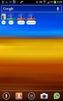 Screenshot of SSID Selector with WiFi Widget