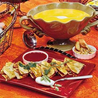 Saffron Butternut Squash Soup.