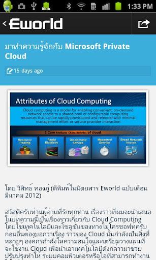 【免費新聞App】Eworld Mobi-APP點子