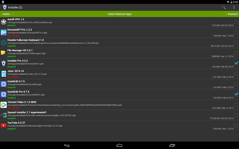 Installer Pro - Install APK Screenshot 5