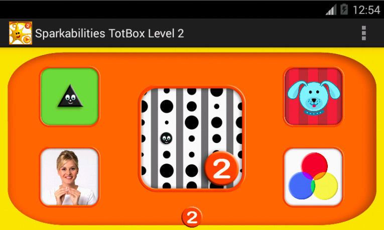 Sparkabilities TotBox Level 2- screenshot