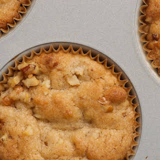 Pear and Pecan Muffins.