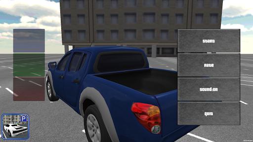 3D カー 駐車場