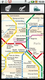 Paris Bus Metro Train Maps- screenshot thumbnail