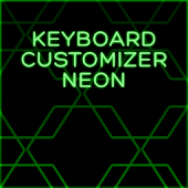 Keyboard Customizer Neon